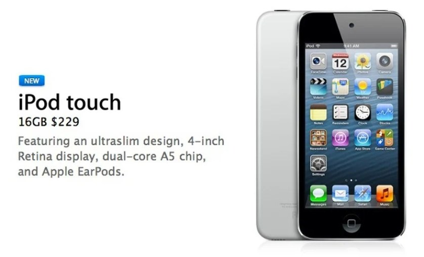 ipod touch 5. nesil