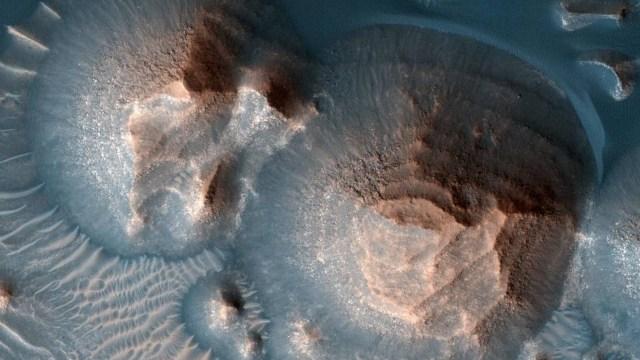 Mars, antik volkanik süper patlamalar