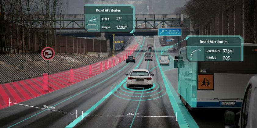 Mercedes, DRIVE PILOT sistemi için HERE Technologies tarafından geliştirilen HD Live Maps'i kullanacak.