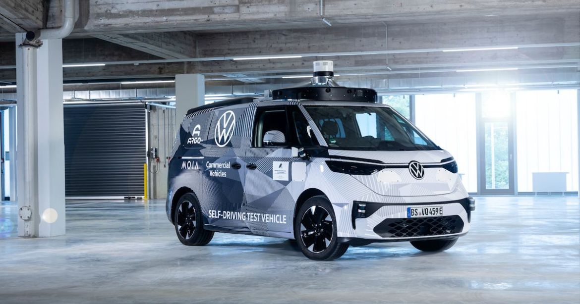 First autonomous commercial vehicle from Volkswagen: ID Buzz NAME 2