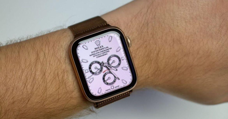 Rolex, Apple Watch