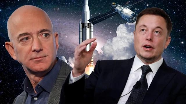 Elon Musk ve Jeff Bezos rekabeti