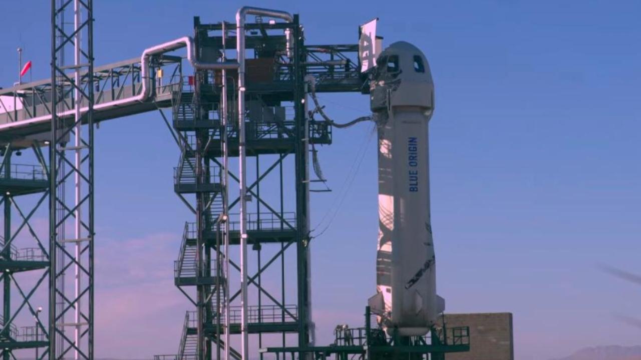Blue Origin uzay uçuşu