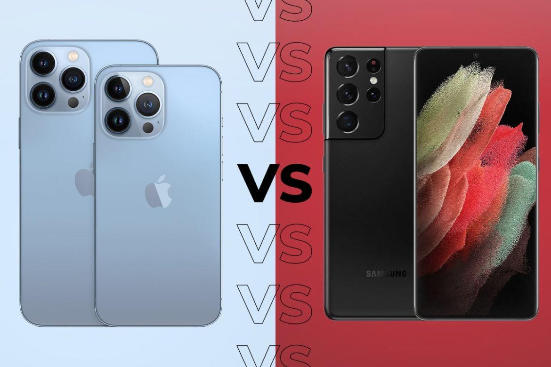 iPhone 13 Pro Max vs Samsung Galaxy S21 Ultra