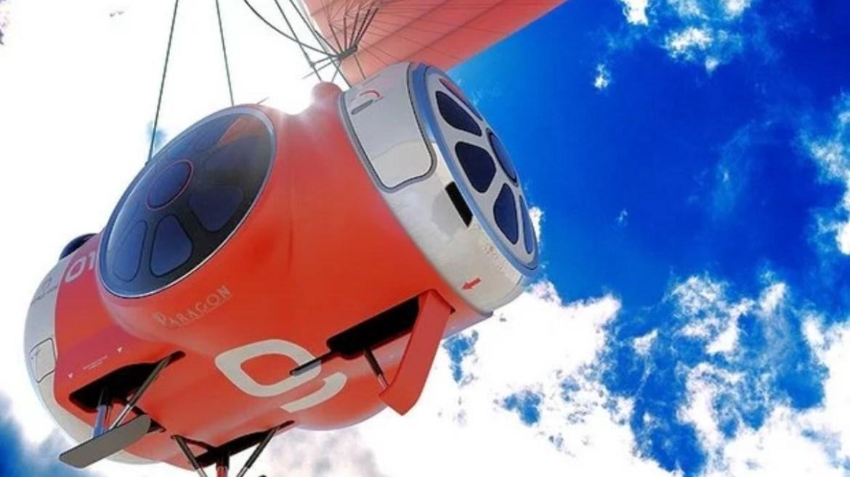 Uzay turizmi için balonla stratosfer uçuşu