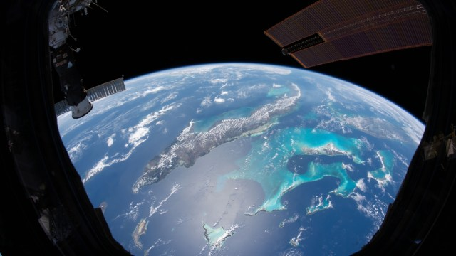 Uzaydan çekilen dünya fotoğrafları