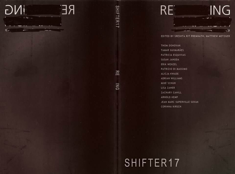 SHIFTER 17 : Re_ing