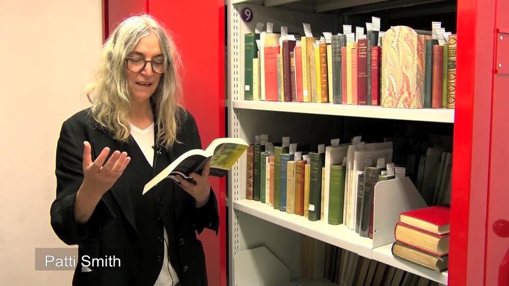 Patti Smith a declamar Fernando Pessoa vídeo