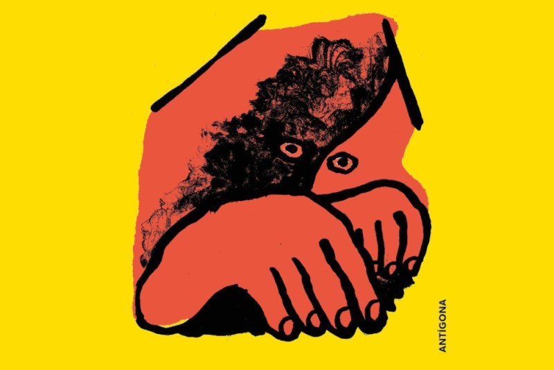 Ilustração de Gonçalo Duarte / Antígona
