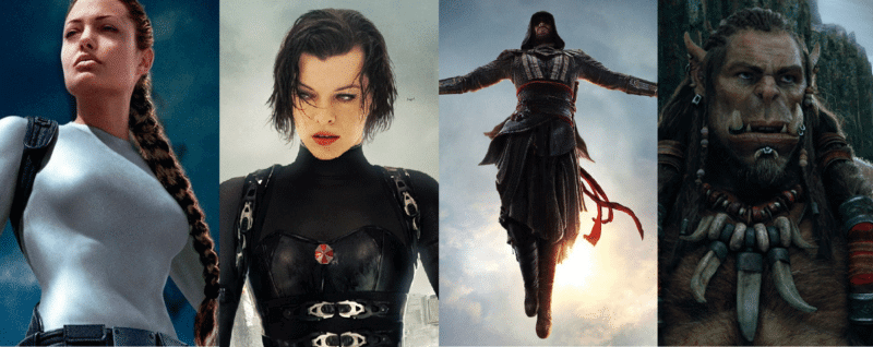 video game movies