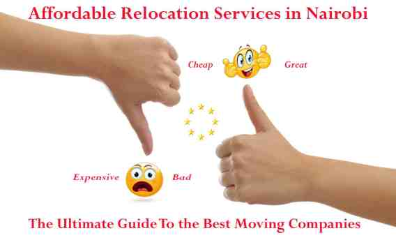 Affordable relocation services in Nairobi Kenya