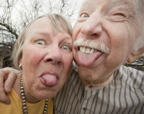 Old-Couple-Making-Funny-Face