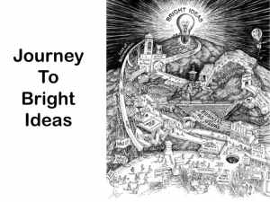 Journey To Bright Ideas