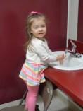 Hand Washing Before Snack
