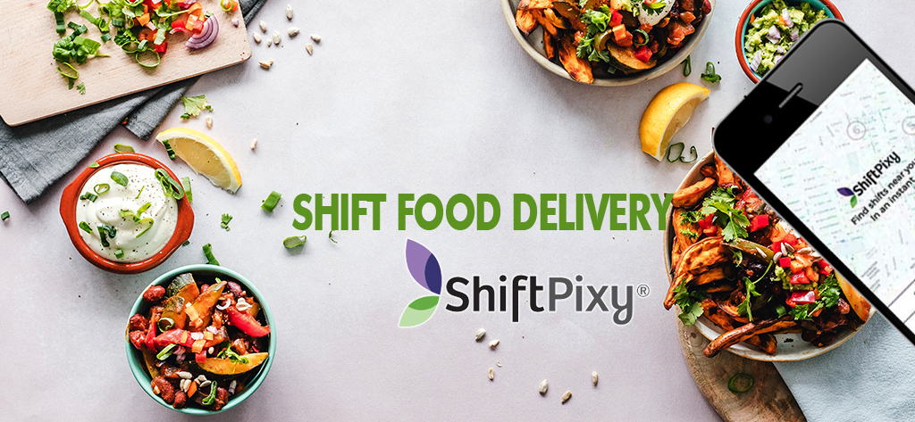 moving to shift food delivery with app