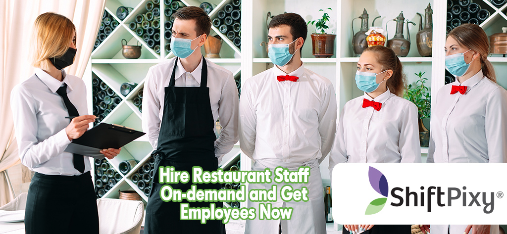 restaurant staff hired and being trained