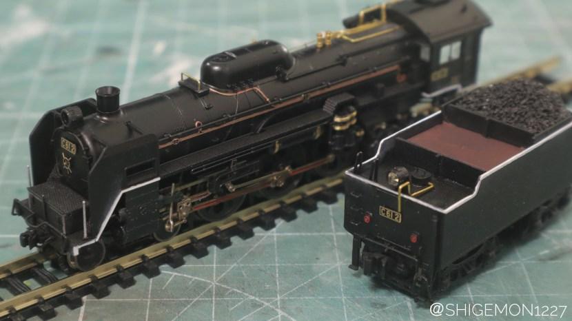 TOMIX C61改造 / 2号機 梅小路仕様