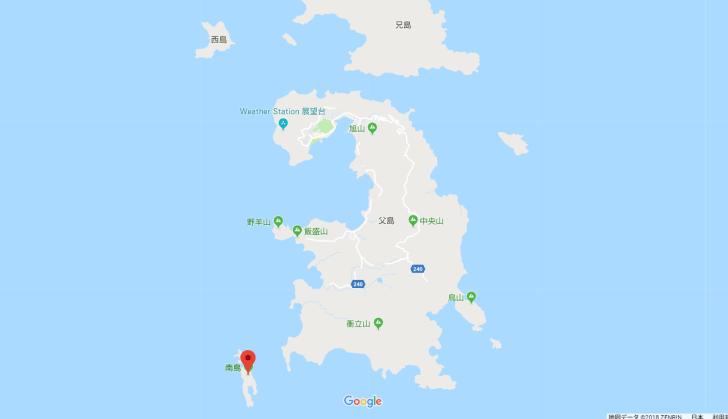 南島の位置