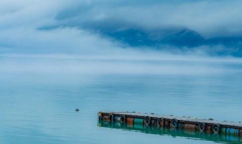 田沢湖 堤防