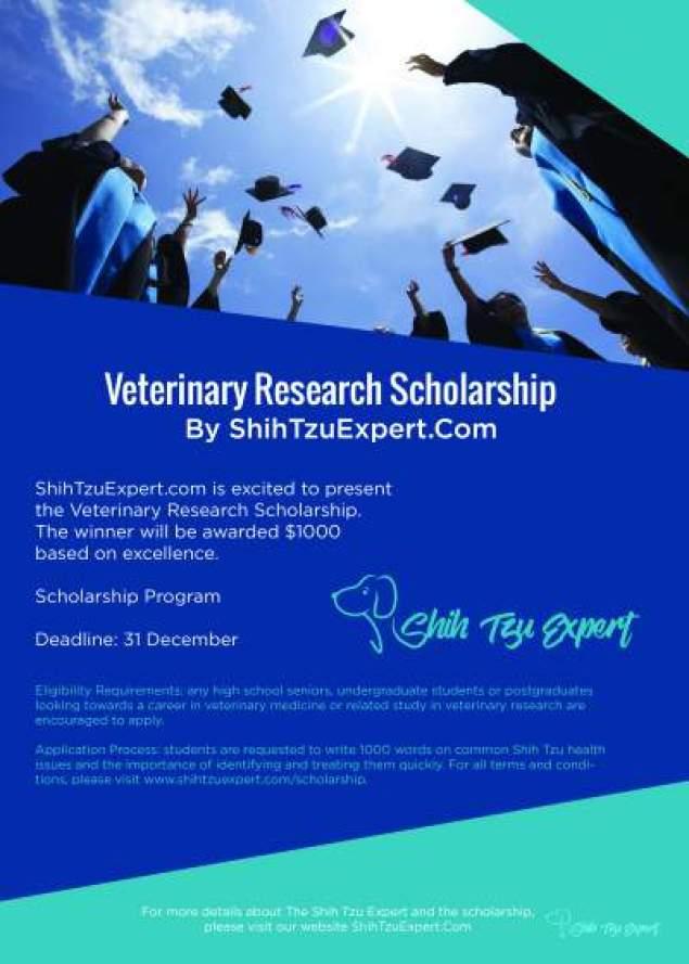 ShihTzuExpert Scholarship