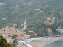 The beautiful town (or village?) of Levanto was our gateway to Cinque Terre.