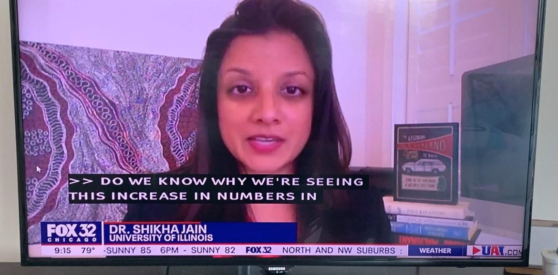 Dr. Jain on Fox32