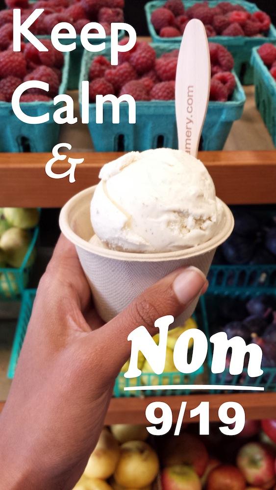 Keep Calm & Nom: 9/19