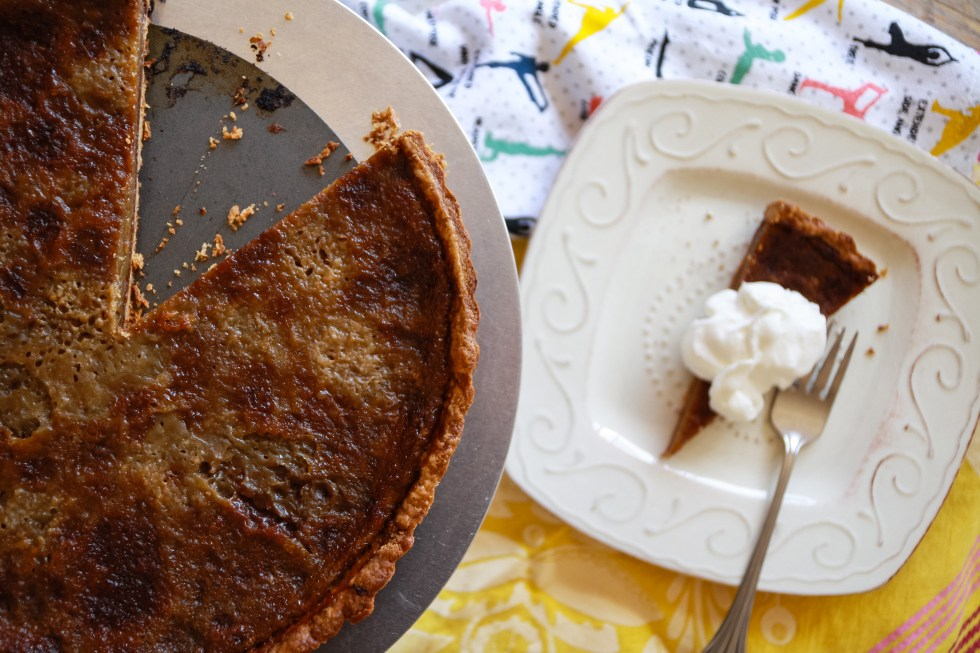 Beer Bourbon Tart