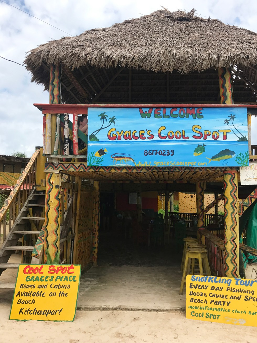 Grace's Cool Spot // Travel Little Corn Island // Shikha la mode