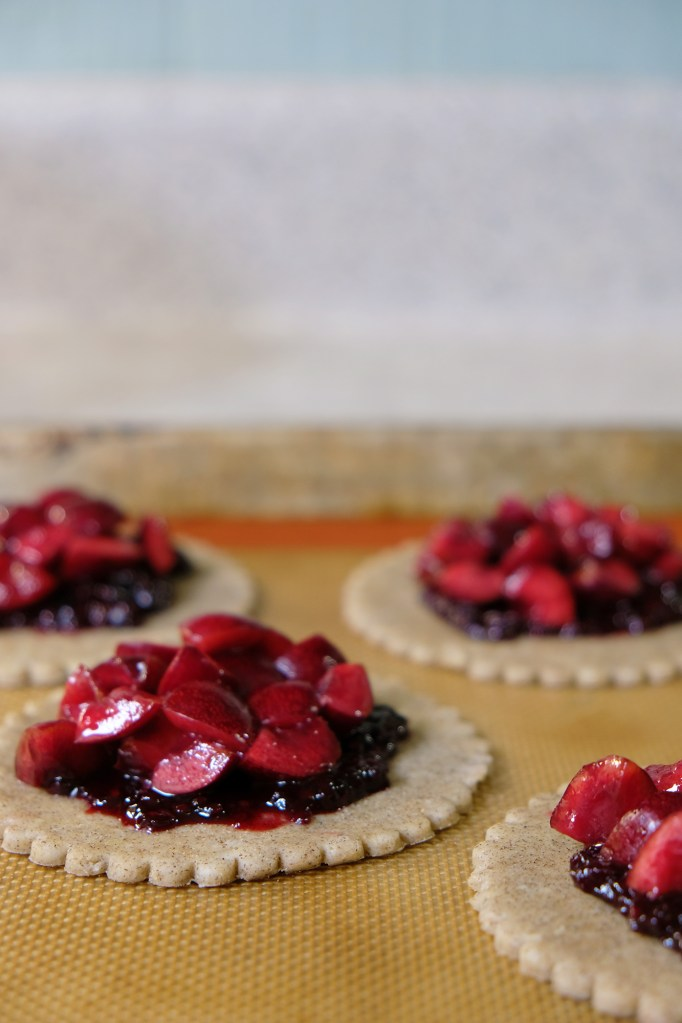 Recipe: Buckwheat Cherry Galettes
