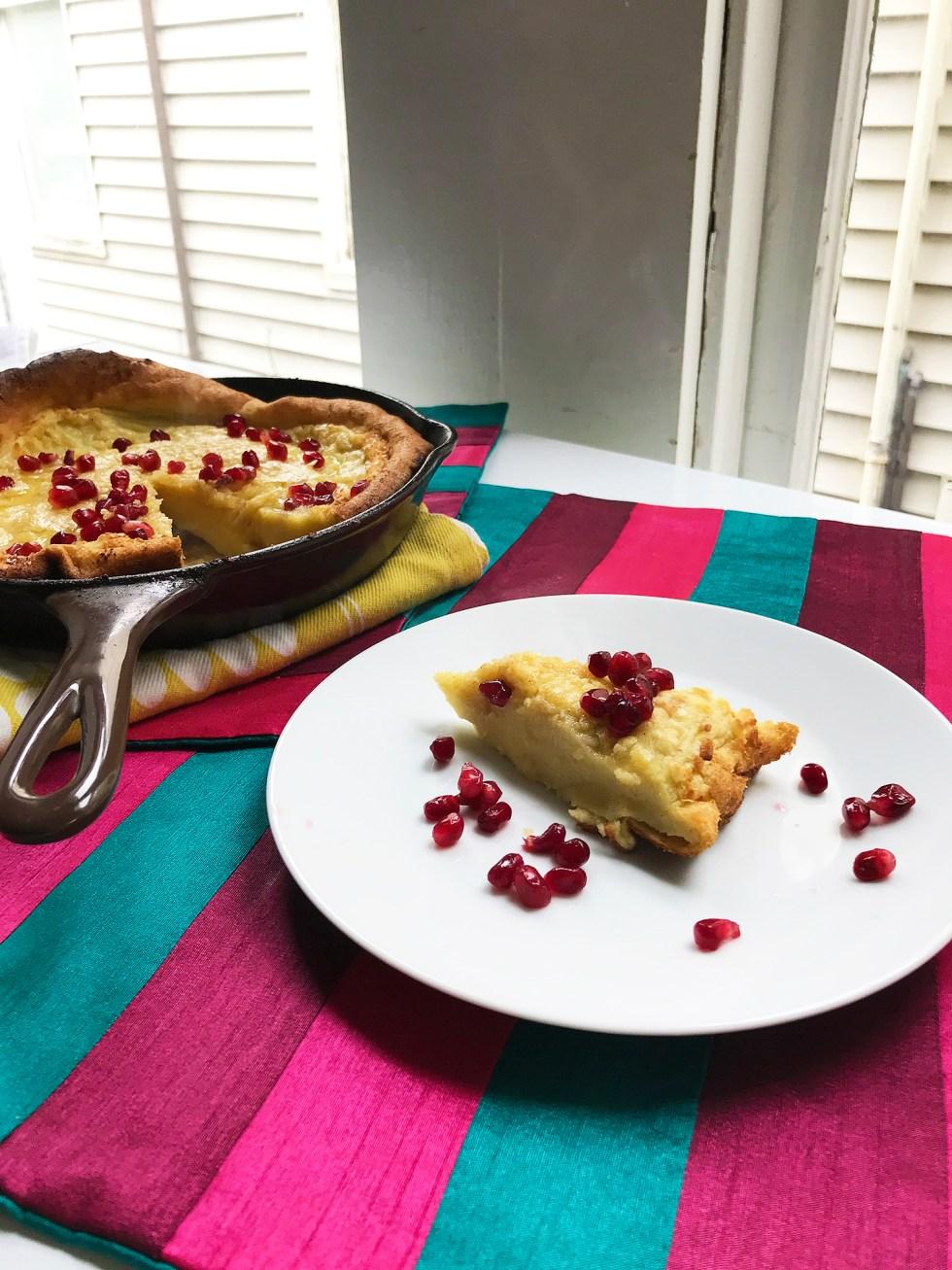 Recipe: Coconut Dutch Baby Pancake // Shikha la mode
