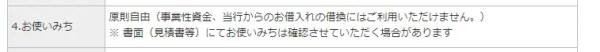 例:楽天銀行「不動産担保ローン」