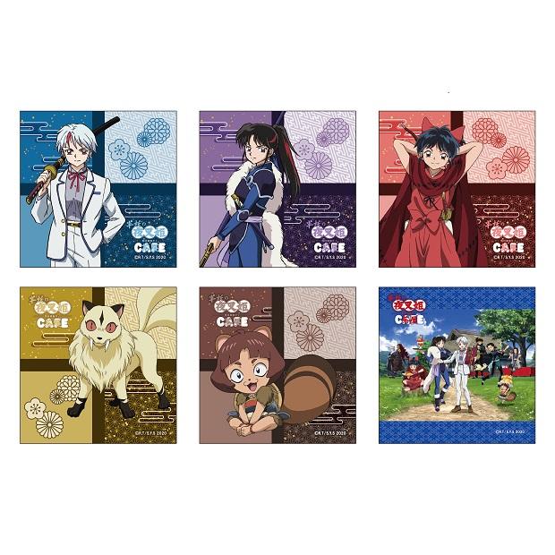 半妖の夜叉姫カフェのグッズ一覧に関する参考画像