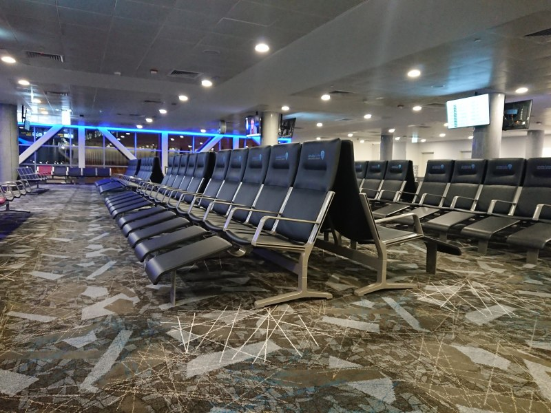Abu Dhabi International Airport - Waiting Area
