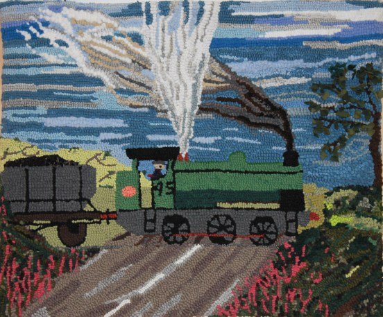 Coal Train working at Grange Pit, Shilbottle