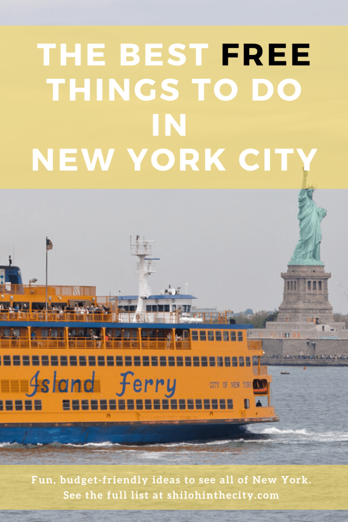 Best Free Things to Do in NYC Pinterest