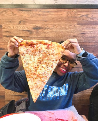 why do new yorkers pizza