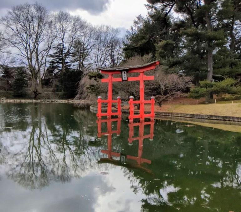 Japanese Garden Brooklyn Botanic Garden Winter