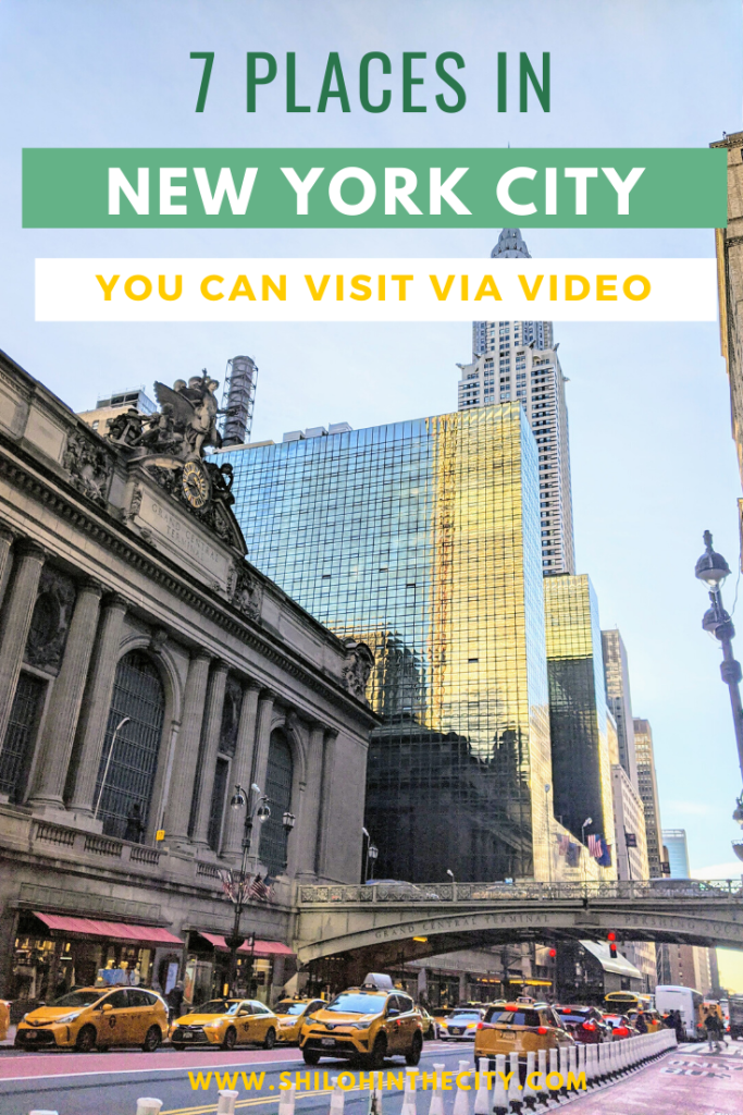 NYC Places to Visit Via Video Pinterest