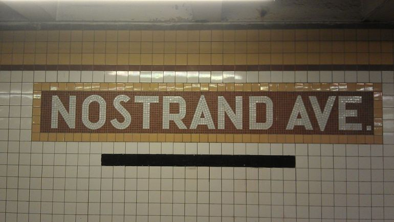 Nostrand Ave tricky nyc street names