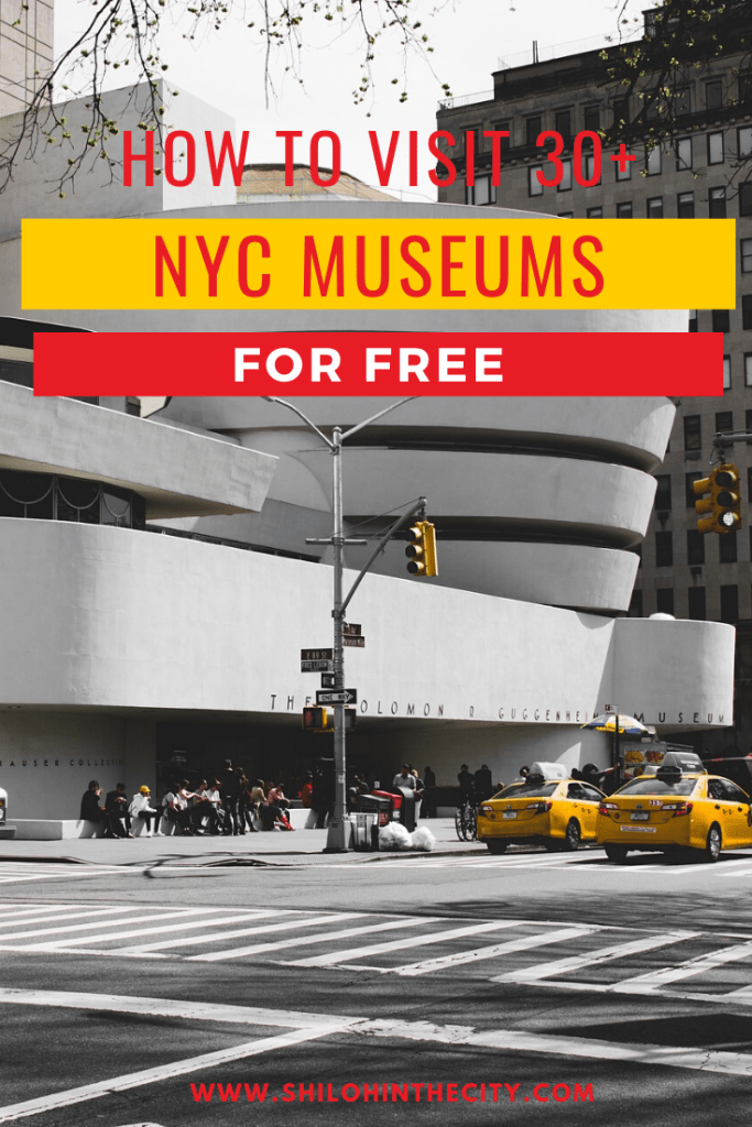 Free Museums in NYC Pinterest