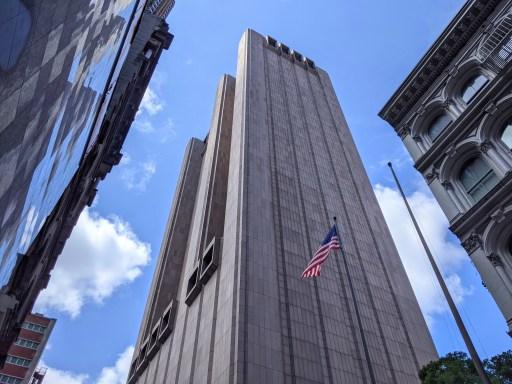 33 Thomas Street Weirdest Buildings in Manhattan