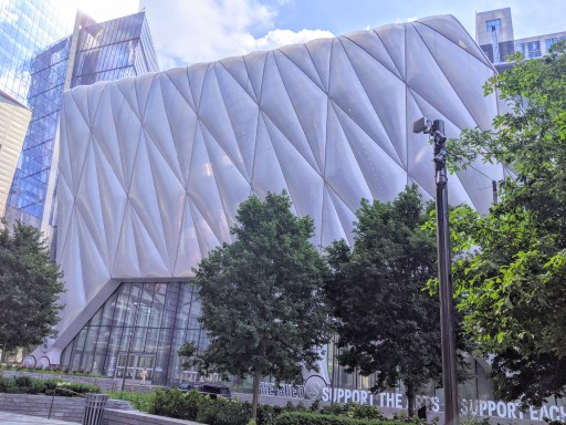 weirdest buildings in midtown The Shed