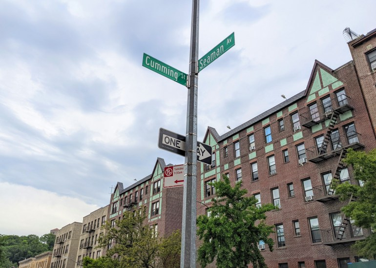 Image of Seaman - Inwood Street Names