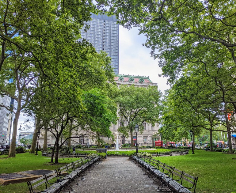 Bowling Green Revolutionary War Sites in NYC