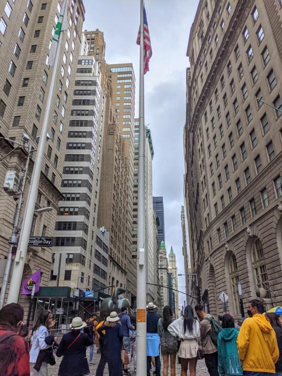 Evacuation Day Flag Pole Revolutionary War Sites in NYC