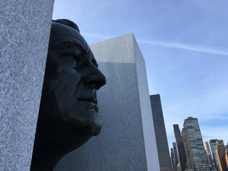 NYC presidential history Four Freedoms Park