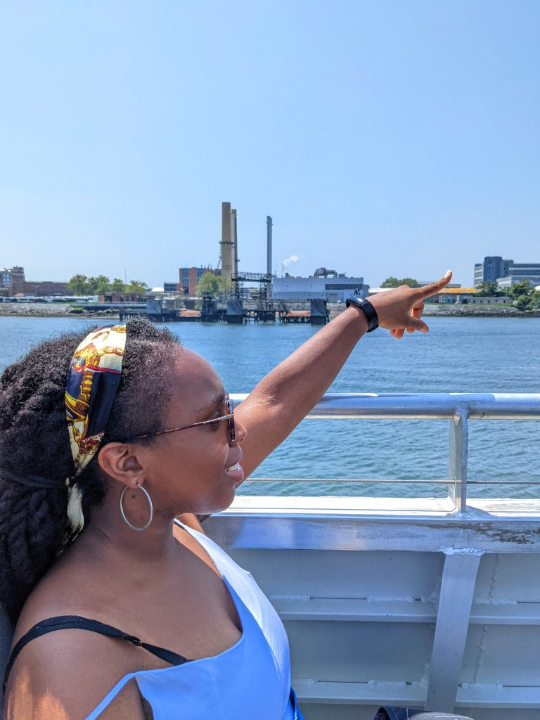 Soundview ferry ride