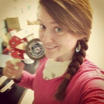 Me and my handy tape gun ready for action! ;)