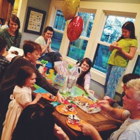 birthday party! Thanks MIcah for the pic!!